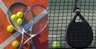 difrencia pelotas de tenis y padel